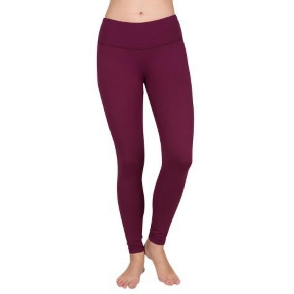 Yogalicious Pants - Yogalicious Mid High Waisted Leggings Women's Sz S
